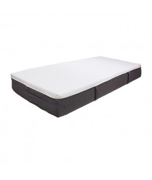 Matelas Fred Blanc Anthracite