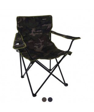 Chaise De Camping Pliable Camouflage