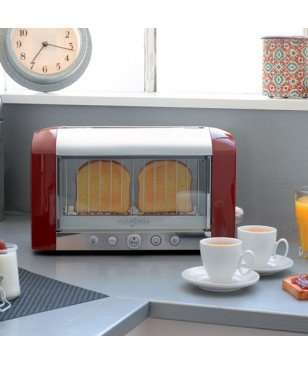 Toaster Grille-Pain vision Magimix Rouge