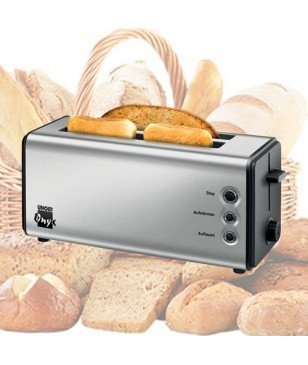 Toaster Grille-Pain Unold 230.017 Onyx Duplex Gris