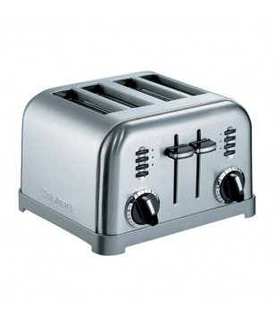 Toaster Grille-Pain Cuisinart 4 tranches Metal CPT180E
