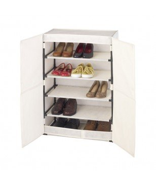 Armoire À Chaussures Wenko Butterfly Beige