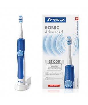 Brosse À Dents Électronique Trisa 4664.0610 Sonic Advanced Blanc