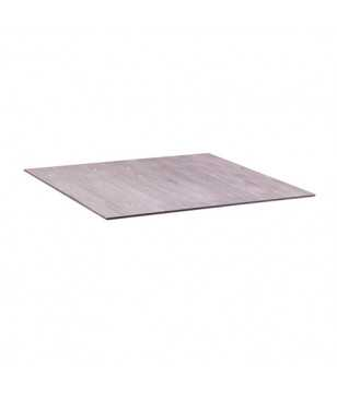 Table Grosfillex X-One Avec Pied Rabattable 70x70 Cm