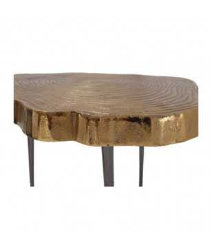 Table D'Appoint Wood Art 225 Or