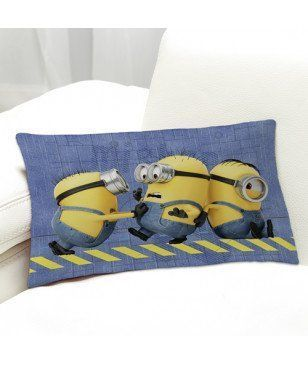 Coussin décoration Minions Oops