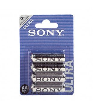 Batteries Sony AA - 4 pièces