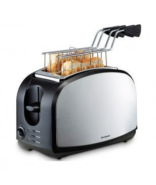 Toaster Grille-Pain Trisa Crispy Snack Gris